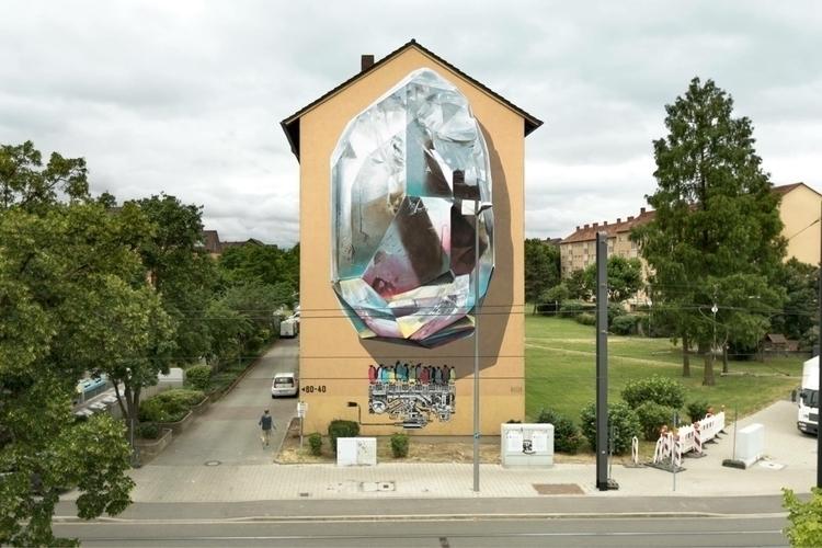 Propagating machine Artist: NEV - streetartunitedstates | ello