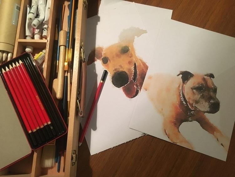 Pet portrait favs - somethingforfay | ello
