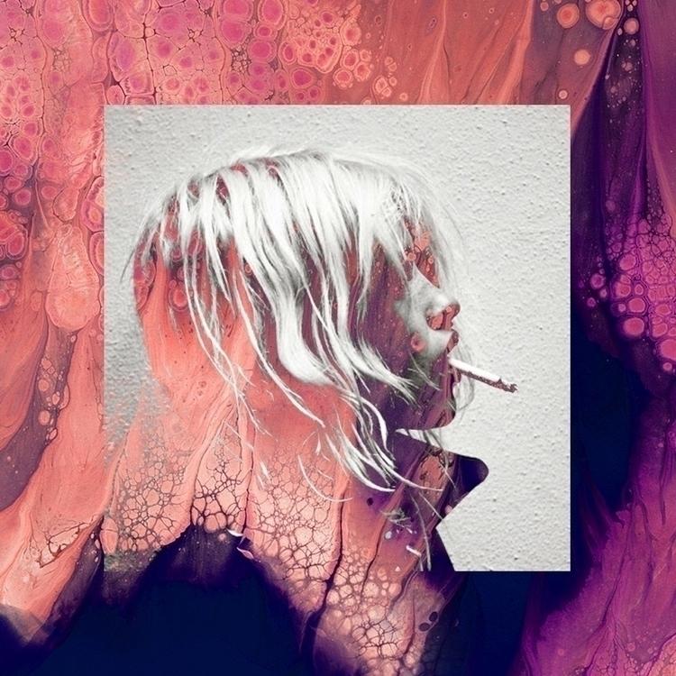 Nicotine Queen. 2017 - cigarette - ash_white | ello