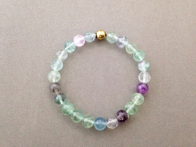 Fluorite beautiful stone virtua - soulluvshop | ello