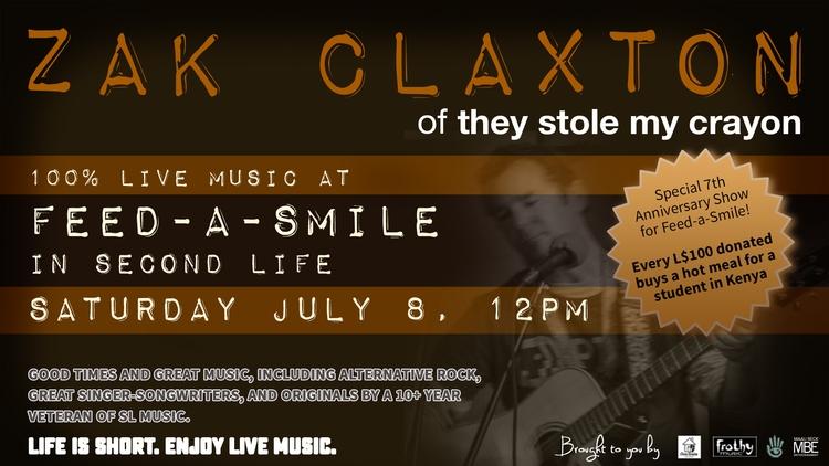TODAY (SAT JULY 8), 12PM NOON S - zakclaxton | ello