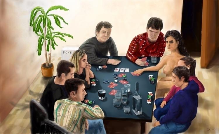 Poker - Drawing Nr.2 Image A4 p - intars | ello