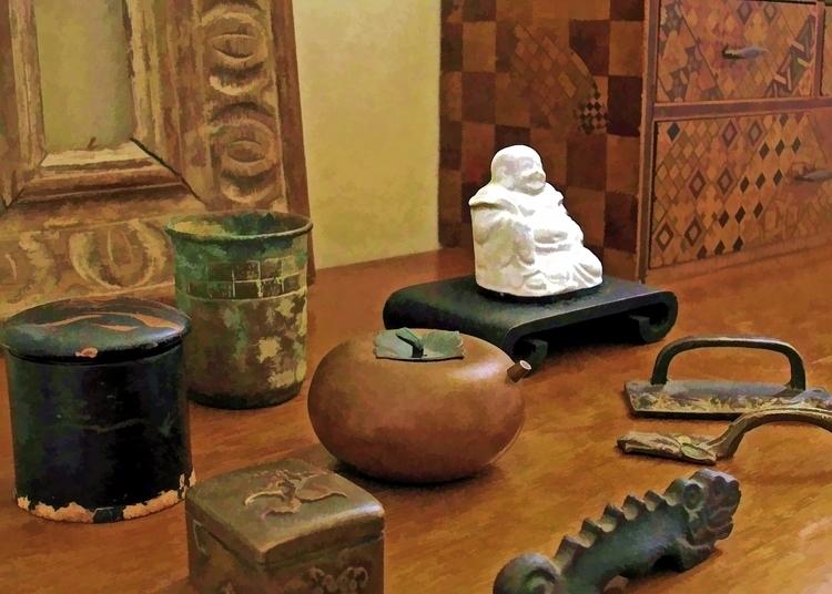 Hotei, sitting table top bedroo - mkeltyjewelry | ello