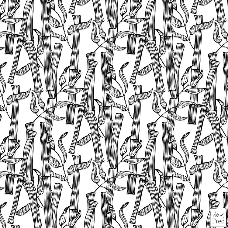boyfriend asked bamboo pattern  - mister_fred_berlin | ello