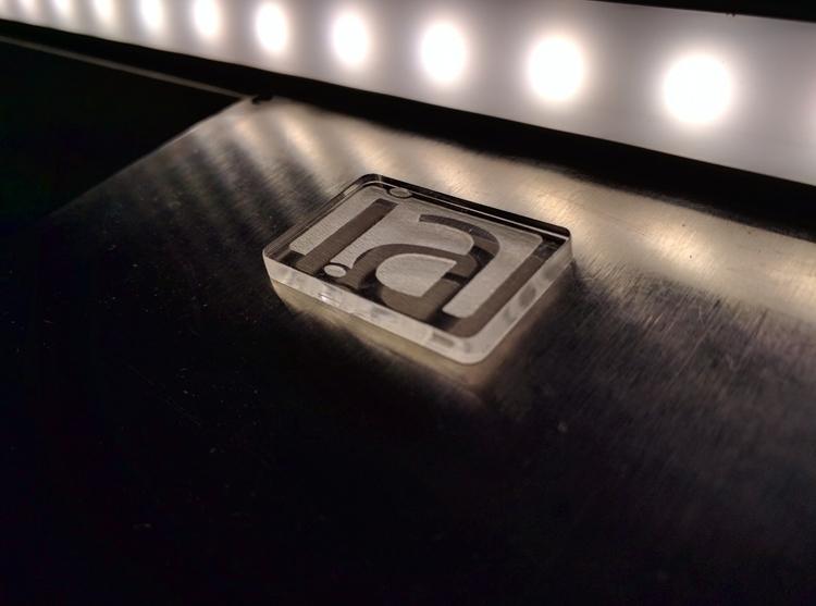 Day job project - laser, acrylic - jasonwherbst | ello