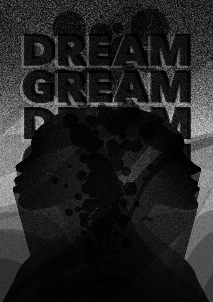 Bad dream. 20 - 365, design, everyday - theradya   ello