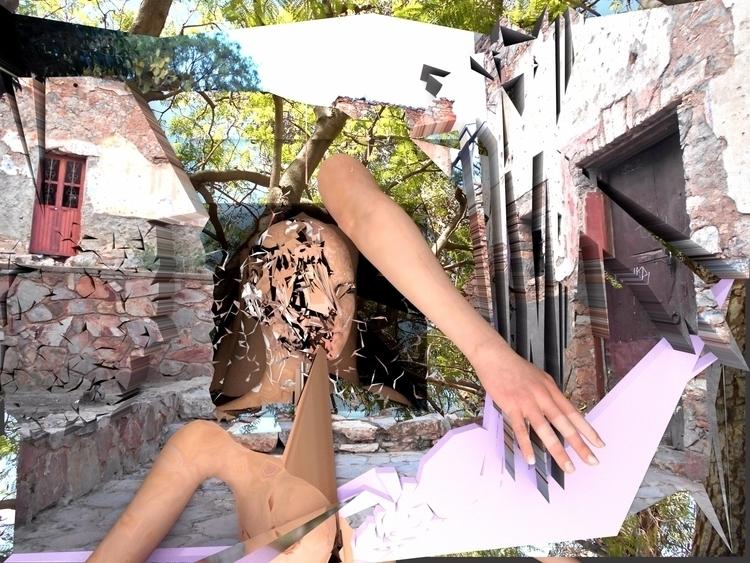 Alesia true love - 3d, blender, glitch - 6ruppy6   ello