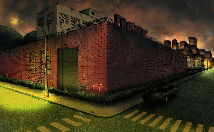 Abandoned Factory - Tinta / Col - fronkie | ello