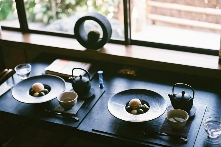 お寺カフェ - filmphotogrphy, film, 35mm - yutori_00001 | ello