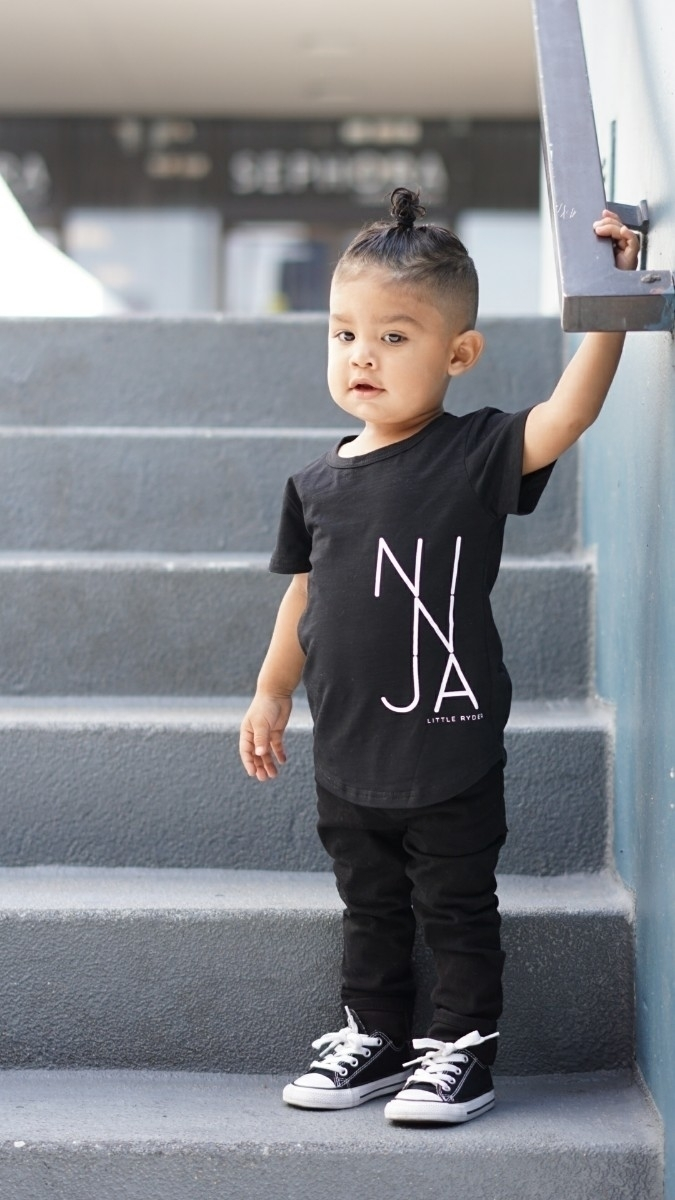 ninja wearing cool tee favorite - lifewithdominickash | ello