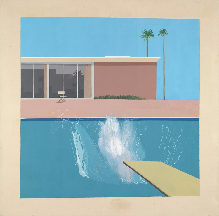 Happy Birthday, David Hockney - art - valosalo | ello
