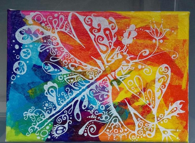 Dragonfly love - bubsiekins | ello