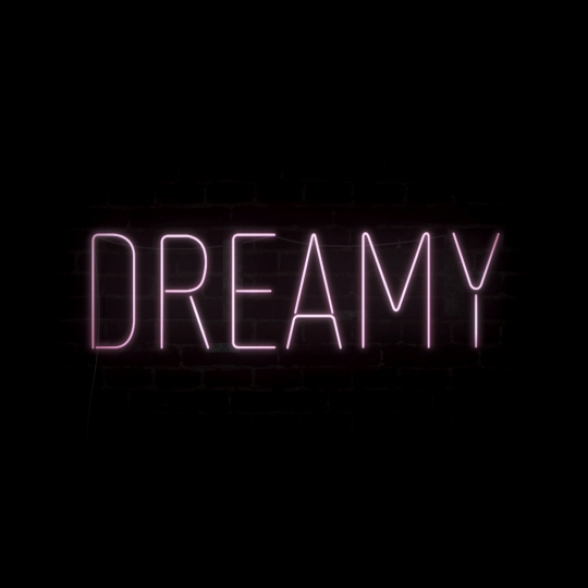 DREAMY Neon Sign Typography - dreamy - peternorthcott | ello