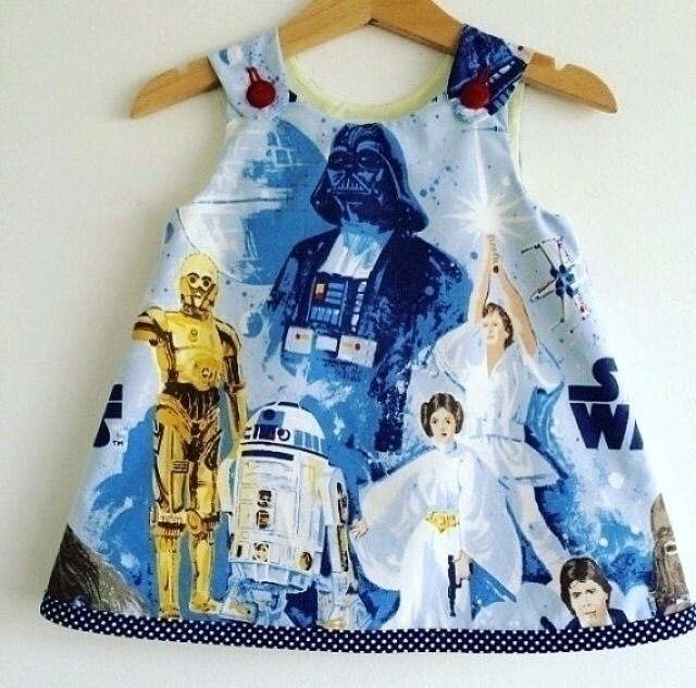 variation upcycled Star Wars dr - velvetsemporium | ello