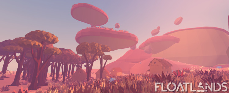hot scorched biome - 3D, gaming - floatlands | ello