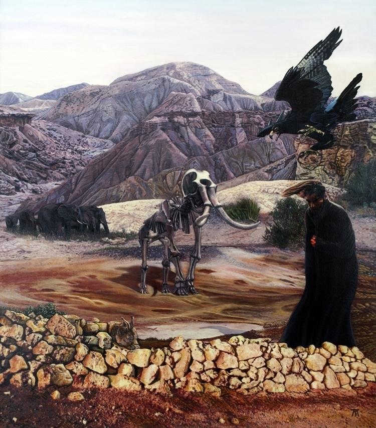 Dive Acrylic canvas / Acrylique - tuffelli | ello