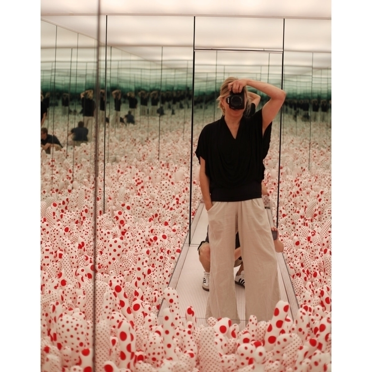 Yayoi Kusama exhibit Seattle Ar - entropyalwayswins | ello