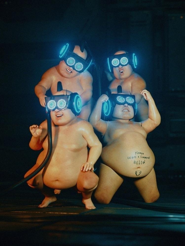 HIDDEN BEAUTY - Cinema4D, C4D, 3D - polygonatic | ello