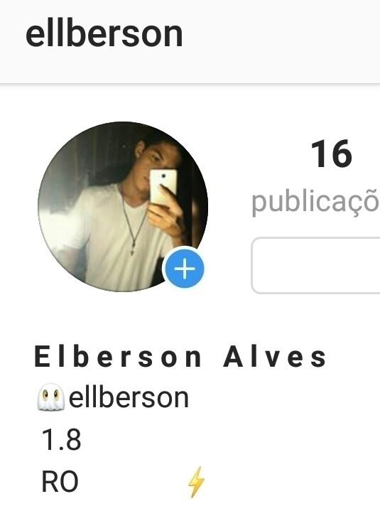 INSTGRAM PESSOAL - elberson | ello