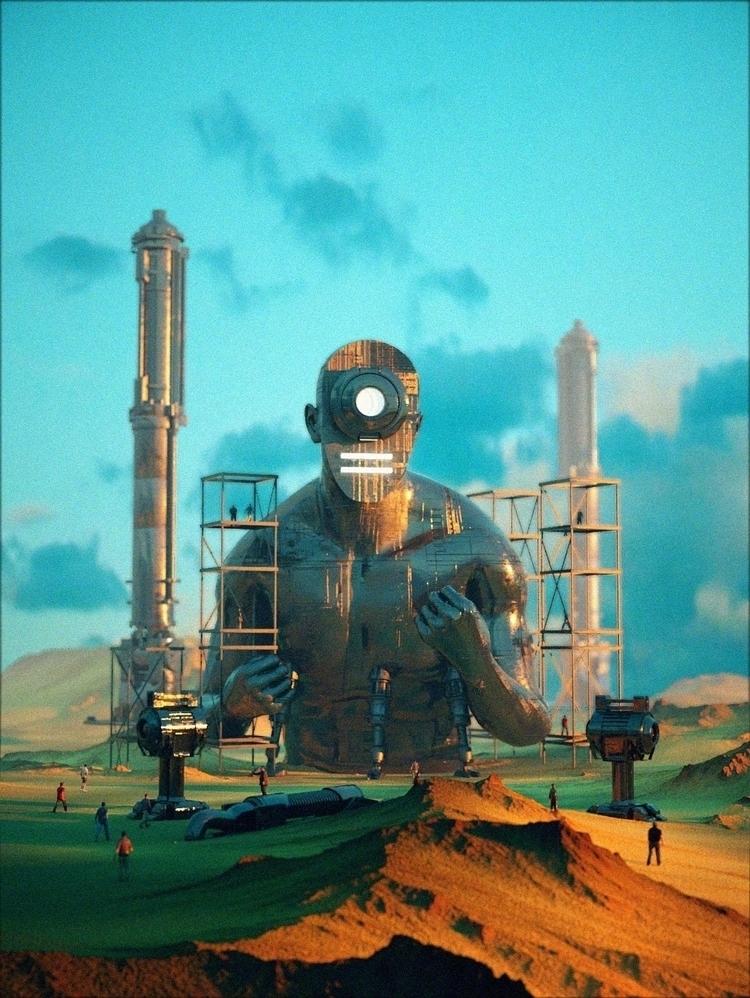 BAGO BANTAY - Cinema4D, 3D, C4D - polygonatic | ello