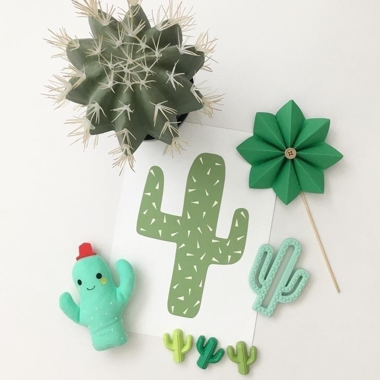 Cactus bite. Featuring painted  - soilamore | ello