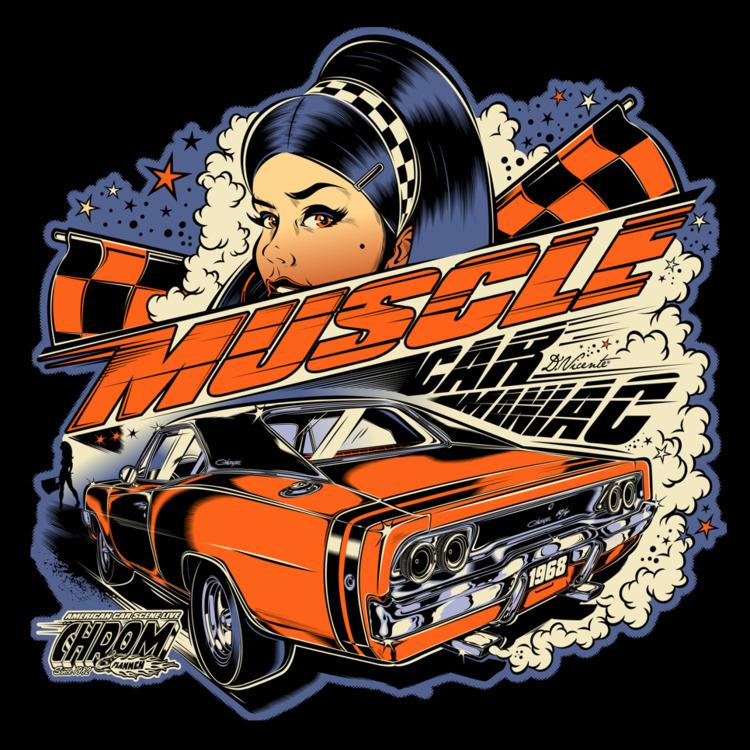 MUSCLE CAR MANIAC - CHROM FLAMM - dvicente777   ello