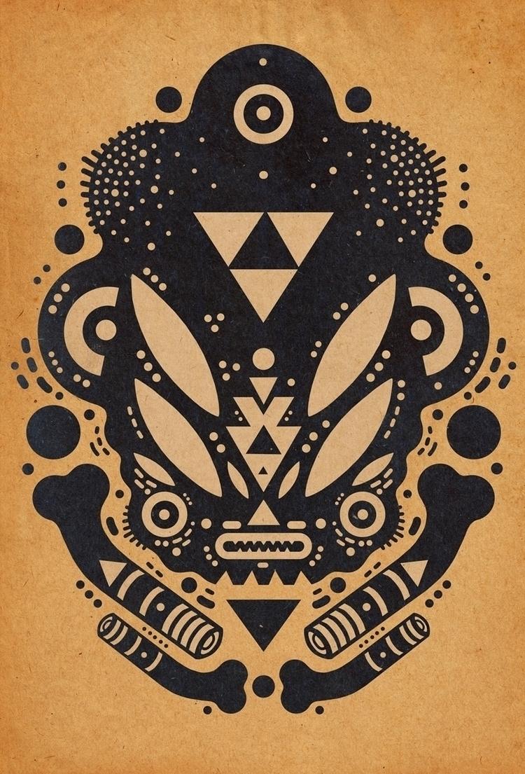 loved skull teeshirts designing - cosmicnuggets | ello