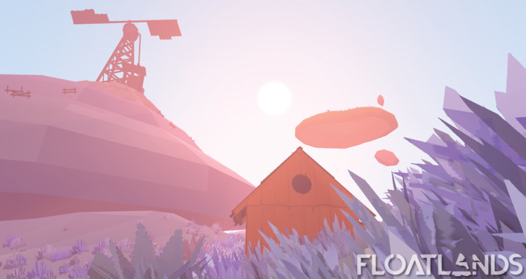winter - 3D, gaming, design, game - floatlands | ello