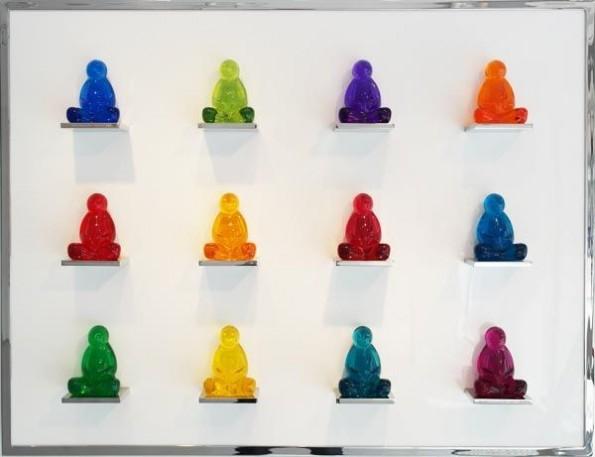 Buddha (3x3) Perucchetti med:pi - mauroperucchetti | ello