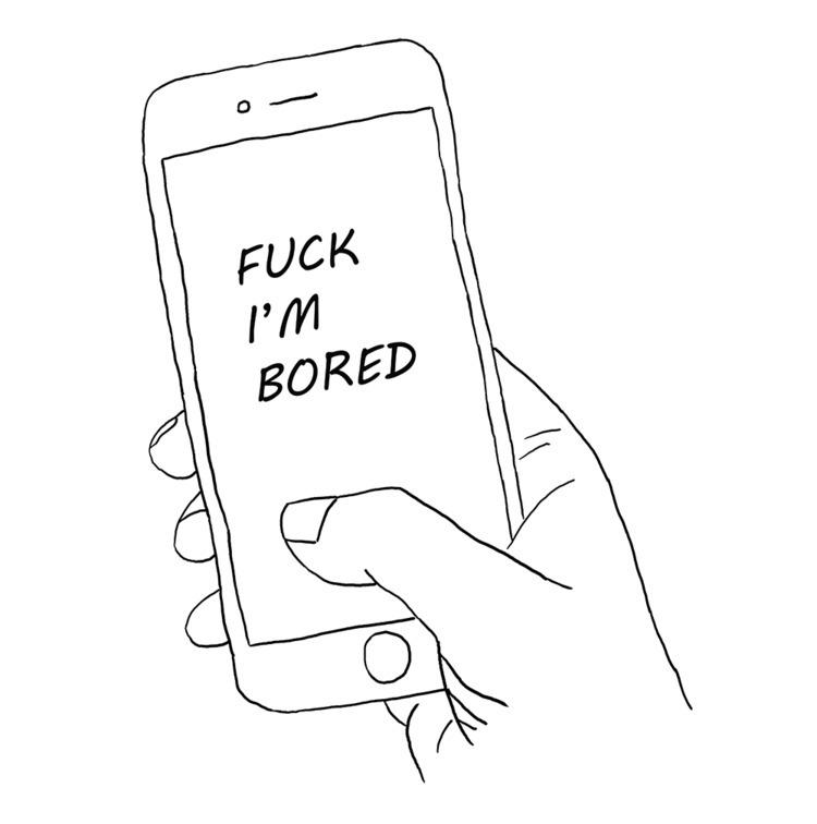Bored Fuck - fuck, bored, phone - conas16 | ello