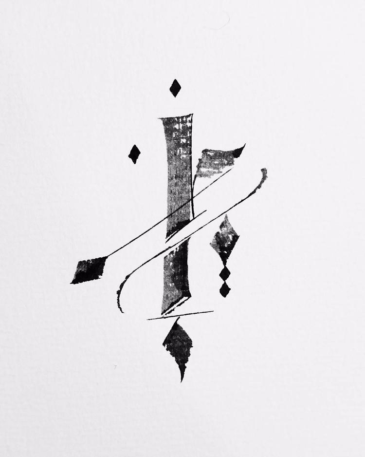 004/100 - Delicacy Power - calligraphy - igorsturion   ello