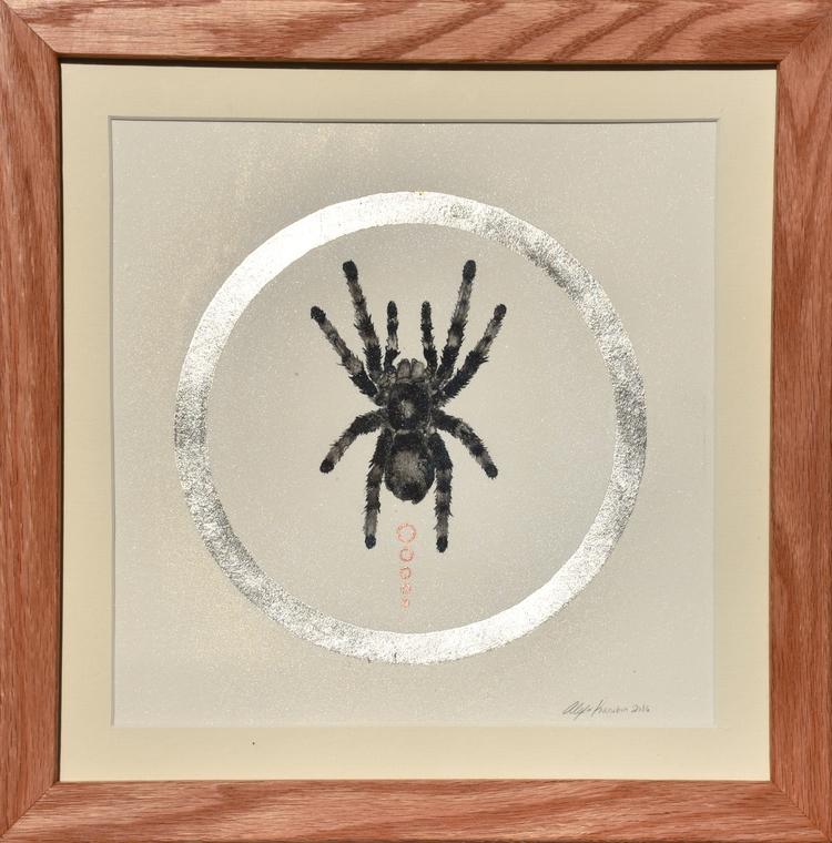 Tarantula / Ink Painting Copper - alexakarabin | ello