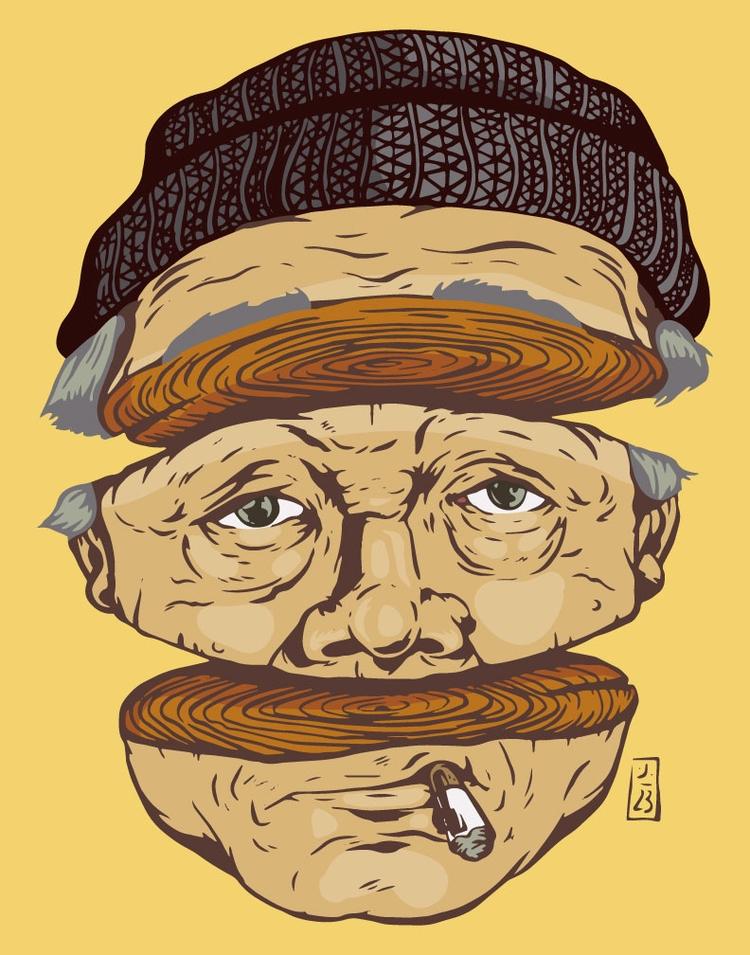 Age Decay - illustration - thomcat23 | ello