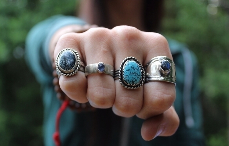rings Lander, Tanzanite, Kingma - skeletonkeyjewelry | ello