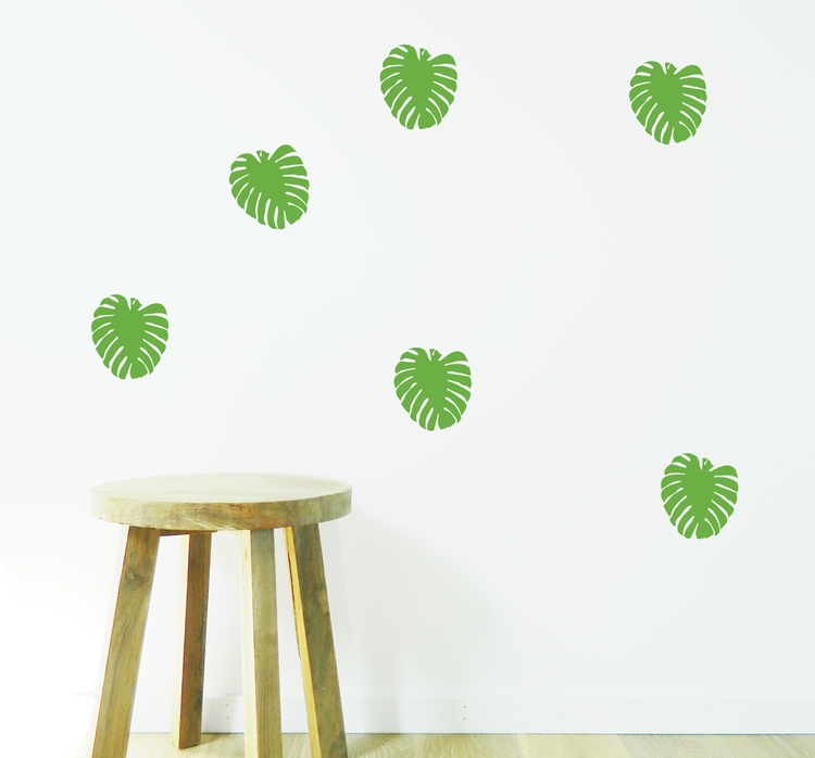 love Monstera Leafs. Removable  - moonfacestudio | ello