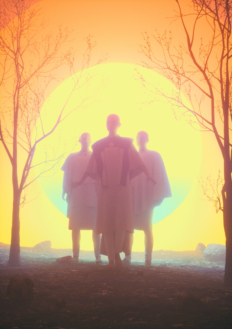HYPERION - cinema4d, c4d, art, design - fvckrender | ello