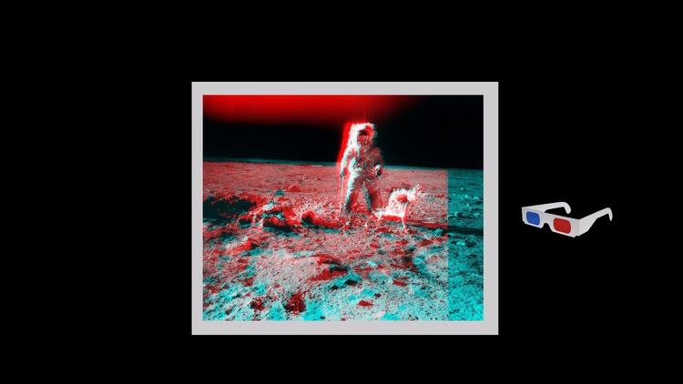 • 3D Moon - design, moon, blue - valenvq | ello