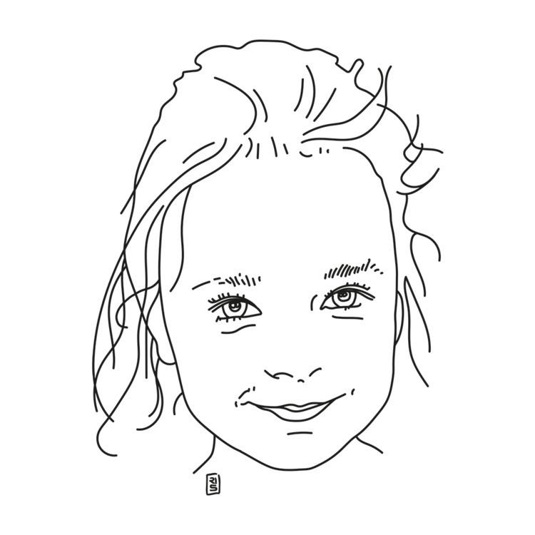 Mila - illustration, drawing, art - rivasinge   ello