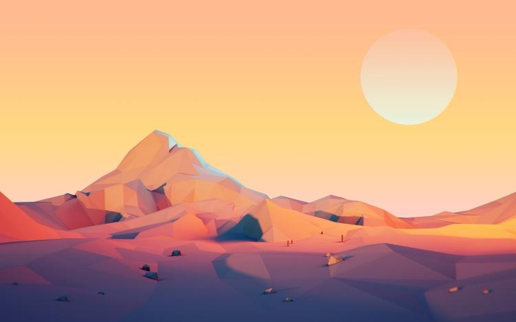 Heatwave - c4d, cinema4d, landscapes - visualhuman | ello