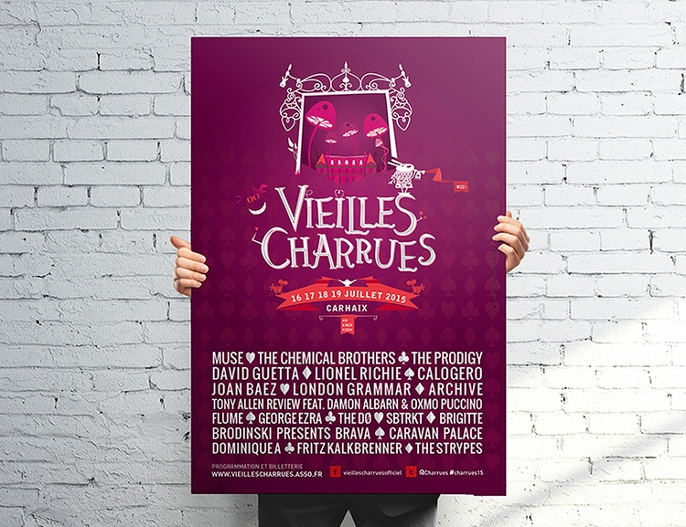 Zig - french, music, Festival, poster - dezzig   ello