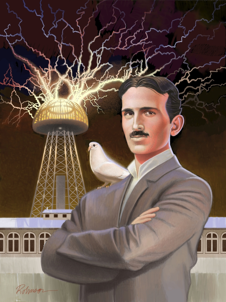 DVD Cover Tesla Born Light - dwrobins2000 | ello