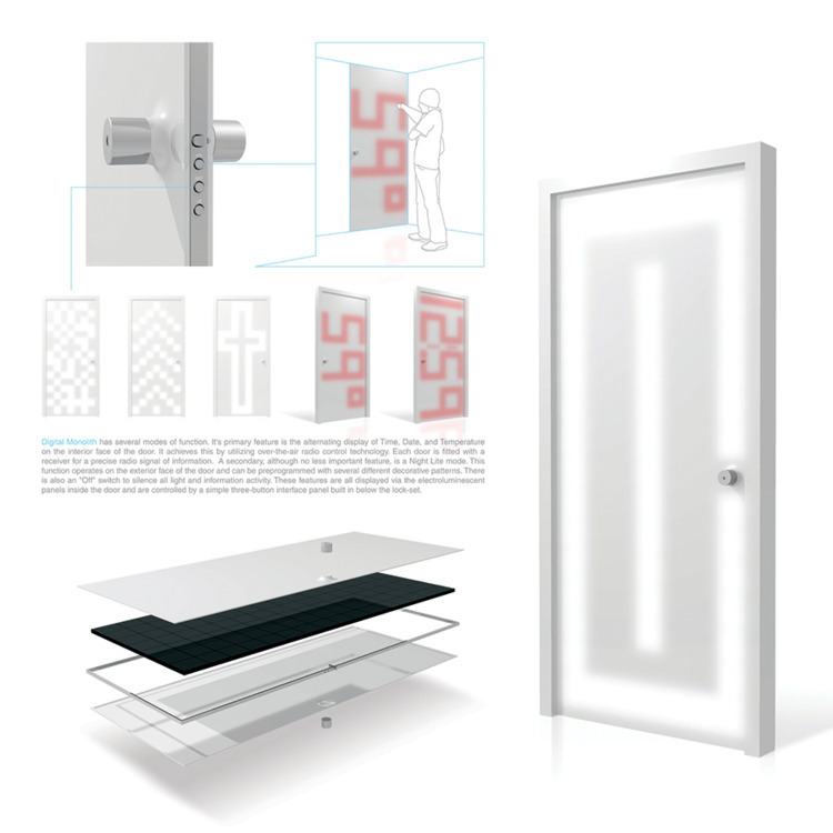 Digital Monolith smart door con - jamesowendesign | ello