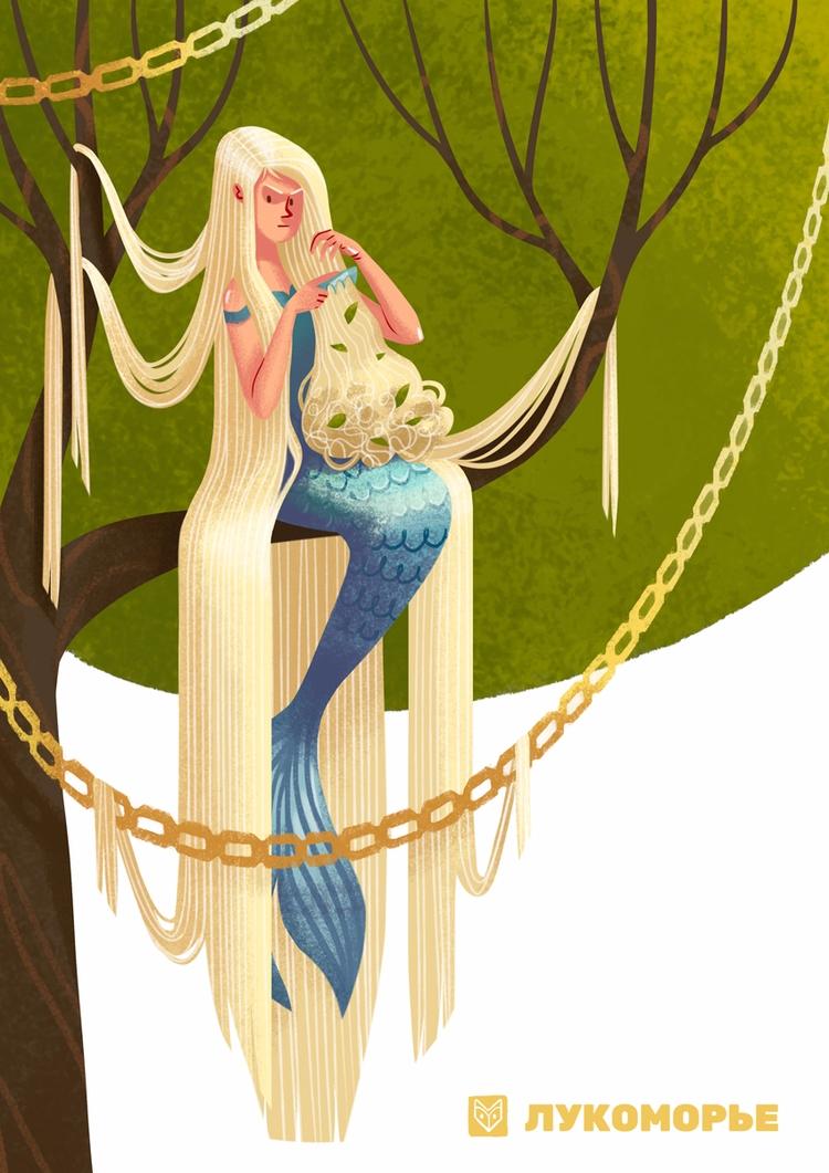 concept mermaid famous russian  - elinanovak | ello