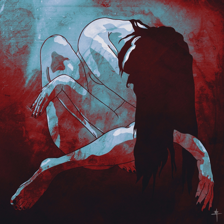 Despair - art, illustration, print - urbanoctopus | ello