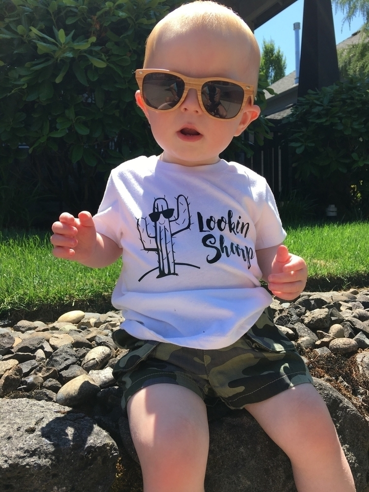 dude lookin' sharp shirt shop - babyboy - littlewarriorsapparel | ello