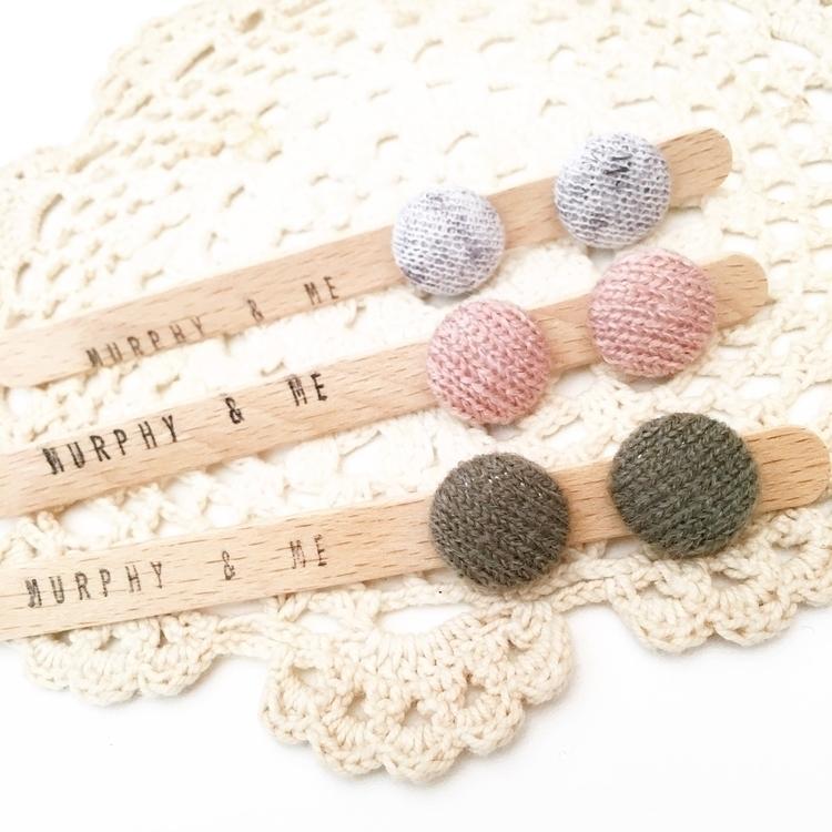 Knitted stud love ♡ HUGE 30% EA - murphy_and_me_handmade | ello
