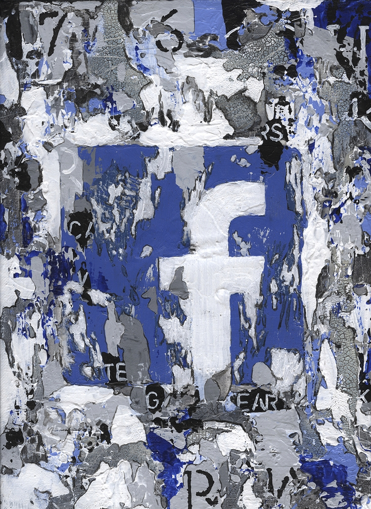 Title: Facebooks Size: 9″X12″ M - damionismyname | ello