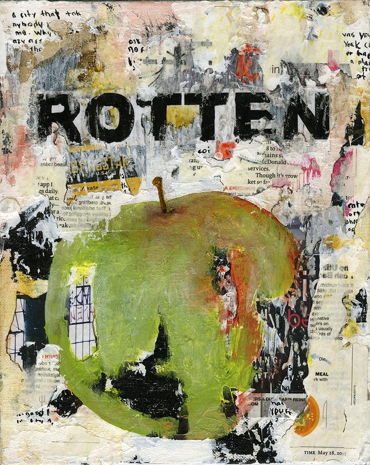 Title: Rotten 6 Size: 8″X10″ Me - damionismyname | ello