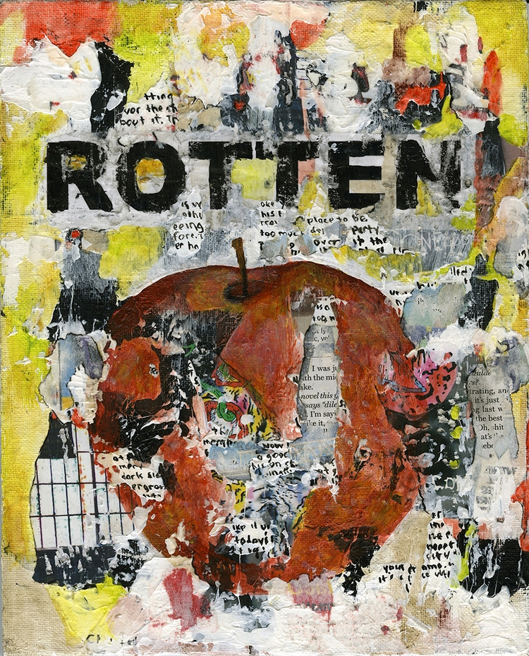 Title: Rotten 8 Size: 8″X10″ Me - damionismyname | ello