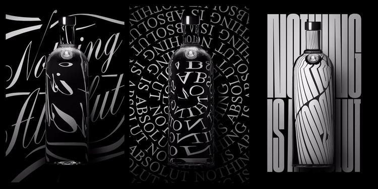 Typographic explorations Absolu - mahhhhrk | ello